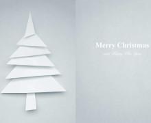 Mit Karten zum Weihnachtsfest einladen