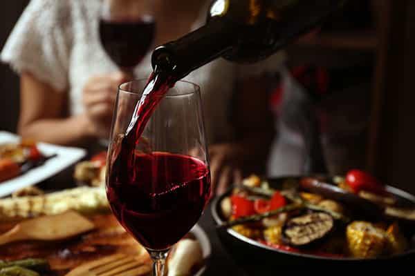 Wein zu vegetarischen Speisen